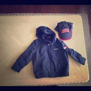 Tommy Hilfiger jacket and hat 2T